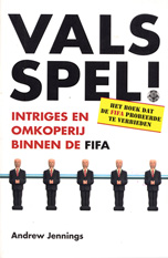 Image of the book cover for the Dutch edition of Foul