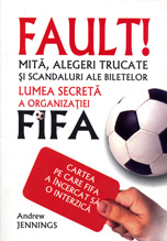 Image of the book cover for the Romanian edition of Foul