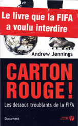 Image of the book cover for the French edition of Foul