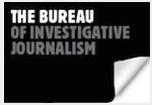 Image of a logo for the Investigations Fund website