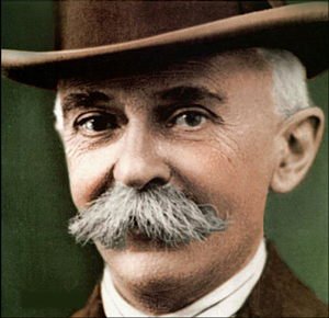 Portrait of Pierre de Coubertin